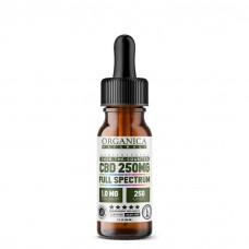 (a) 250-mg Full Spectrum Pocket Size CBD Oil Tincture (1.0mg/Drop × 250 Doses) 15 mL